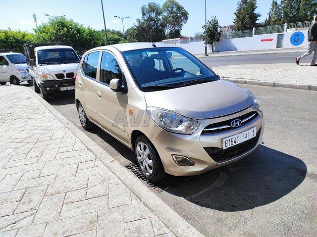 Voiture Hyundai I 10 2013 à rabat  Essence  - 6 chevaux
