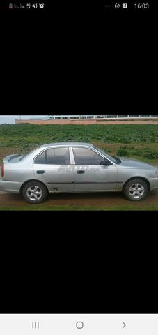 Voiture Hyundai Accent 2002 à casablanca  Essence  - 7 chevaux