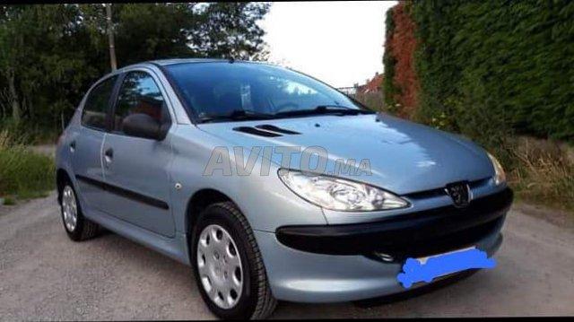 Voiture Peugeot 206 2010 à kénitra  Diesel  - 6 chevaux