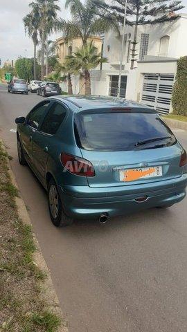 Voiture Peugeot 206 2001 à casablanca  Diesel  - 6 chevaux