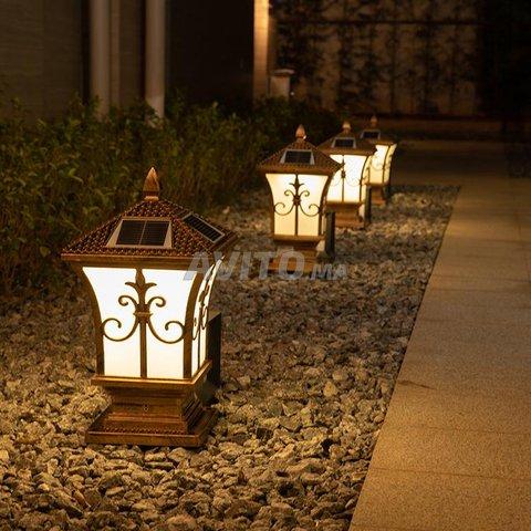 Lampe solaire décoration des jardins BHM Solaire - 2