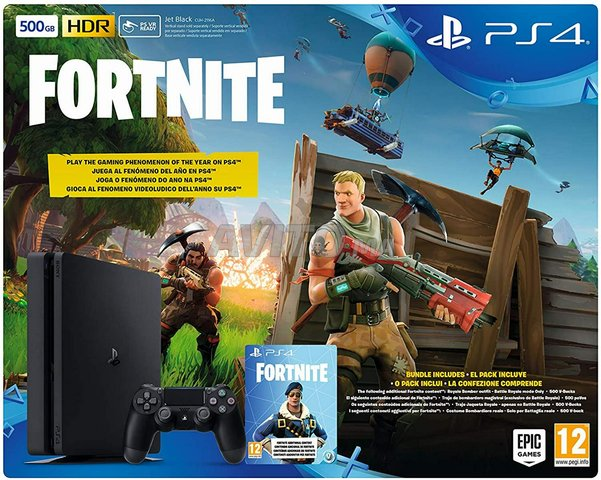 PlayStation PS4 500GB Jet Black CUH-2116A NEUF - 2