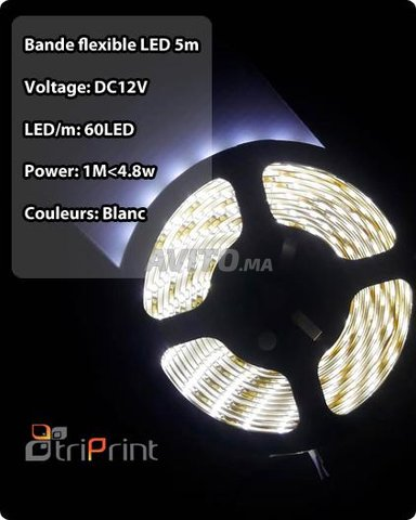Bande flexible LED 5M CHEZ TRIPRINT  - 2