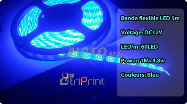 Bande flexible LED 5M CHEZ TRIPRINT  - 1