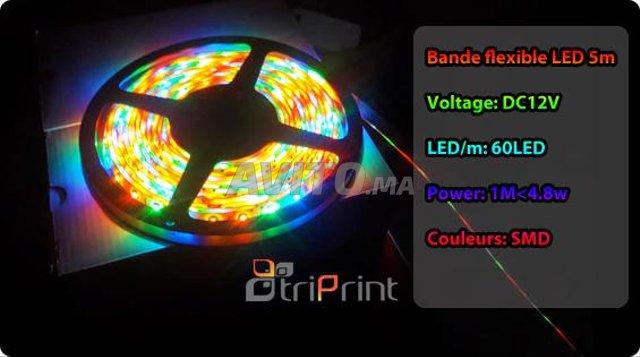 Bande flexible LED 5M CHEZ TRIPRINT  - 4