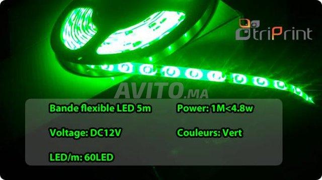 Bande flexible LED 5M CHEZ TRIPRINT  - 5