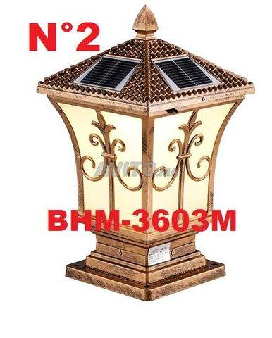 Lampe solaire décoration des jardins BHM Solaire - 1