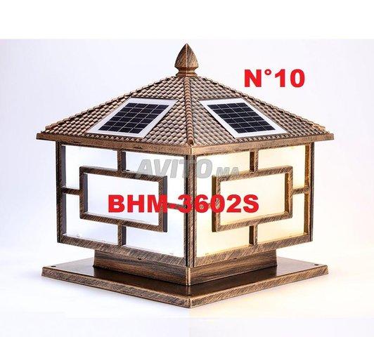 Lampe solaire design d'extérieur de BHM Solaire - 1