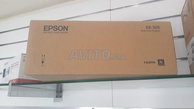 Video projector epson EB-S05 - 6