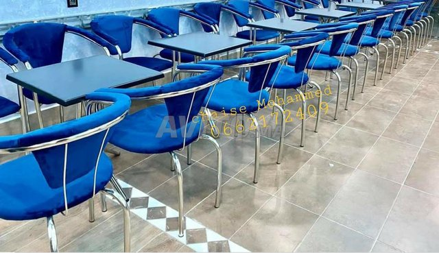 Chaise et table café - 6