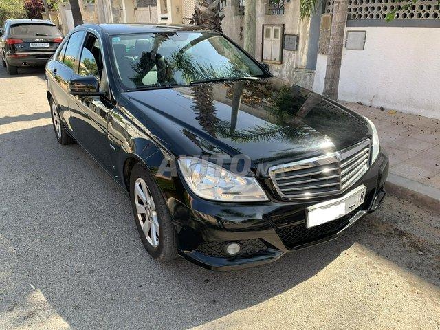 Voiture Mercedes benz Classe c 2012 au Maroc  Diesel