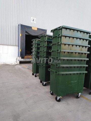 Poubelle bac à ordure 660L - 5