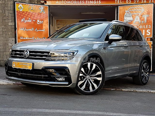 Voiture Volkswagen Tiguan 2019 au Maroc  Diesel  - 8 chevaux