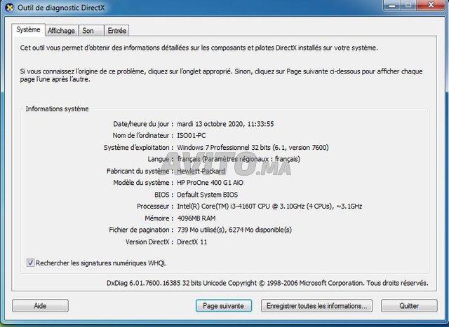 HP ProOne 400 i3 vPro 4GB 500 SSHD - 5