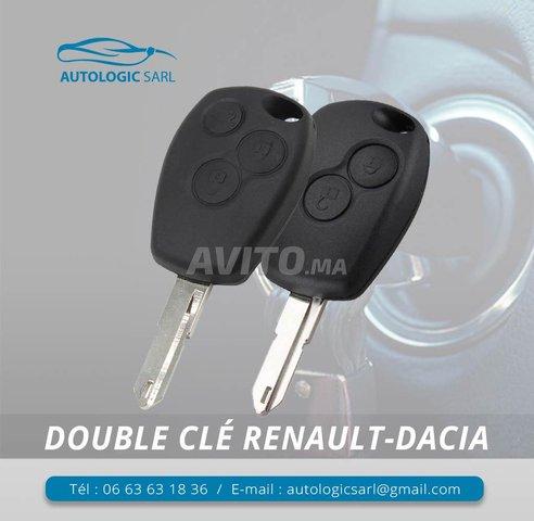 Reprong Clé Renault Dacia Original Prix - 1