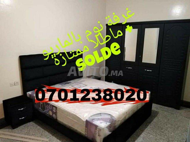 chambres e t matelas et armoire  4 ports solde 001 - 1