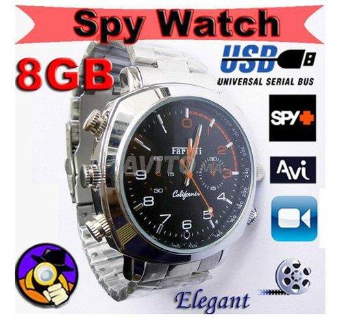 Montre Camera espion HD 720P 8Go - 4