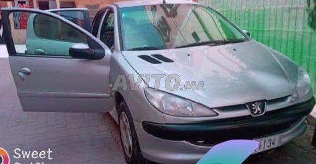 Voiture Peugeot 206 2003 au Maroc  Diesel  - 7 chevaux