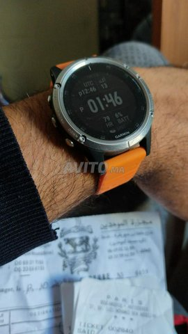 bracelet montre Garmin - 1