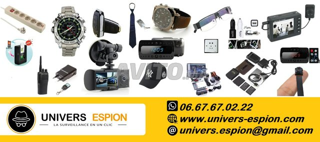 Camera espion - Mouchard GSM espion - Traceur GPS - 1