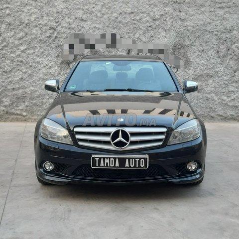Voiture Mercedes benz Classe c 2007 au Maroc  Diesel  - 9 chevaux
