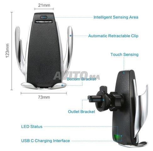 Support téléphone et chargeur sans fil intelligent - 7