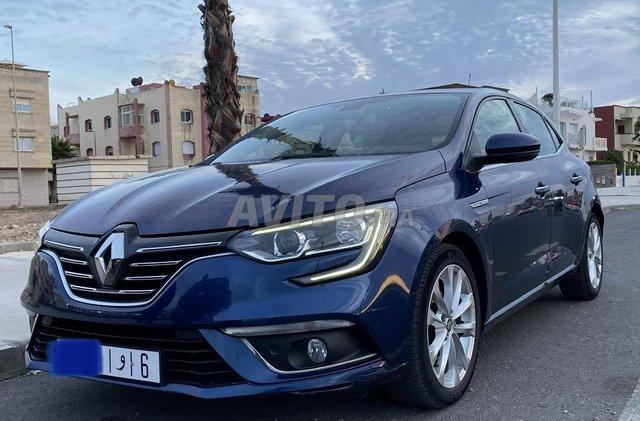 Voiture Renault Megane 2018 au Maroc  Diesel  - 6 chevaux