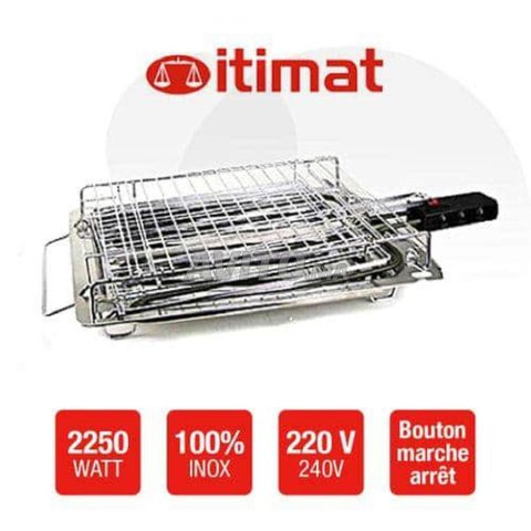Electric grill itimat - 2