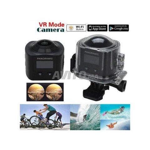 360 VR Sport Camera Panoramique - 1