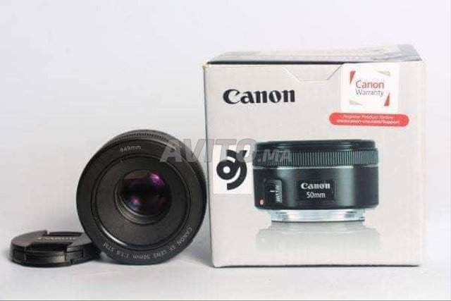 Canon 50mm 1.8 STM neuf Promotion Midox SHOP - 3