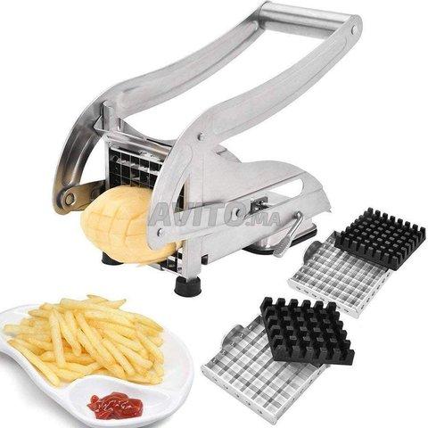 Coupe-pommes de terre - En acier inoxydable - 4