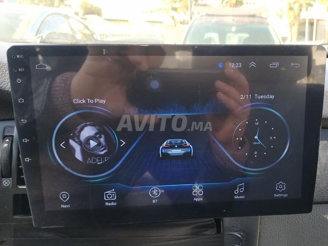 Autoradio Android tactile 10 pouces bluetooth gps - 2