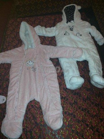 Manteau combinaison pour bébé  - 1