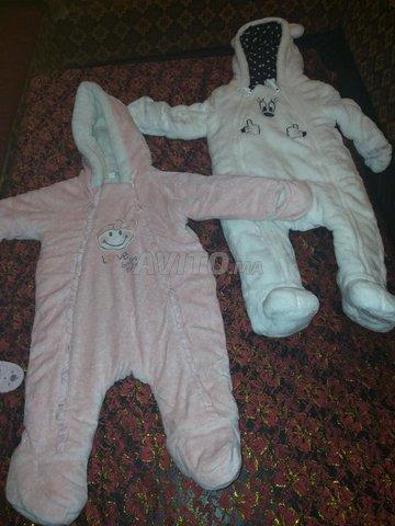 Manteau combinaison pour bébé  - 2