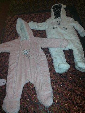 Manteau combinaison pour bébé  - 3