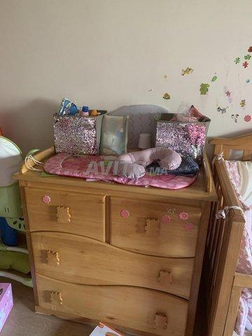 Meuble enfant lit et commode - 3