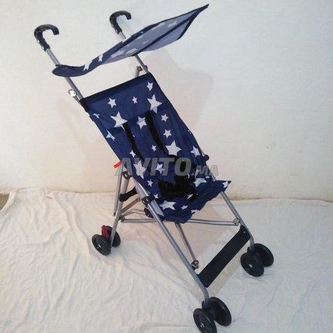 Poussette bébé Pliable neuf parapluie  - 2