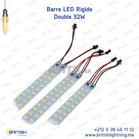Barre LED Rigide 32W Double - 1