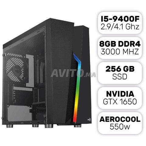 Pc gamer i5-9400f / 8gb / 256gb ssd / gtx 1650 - 1