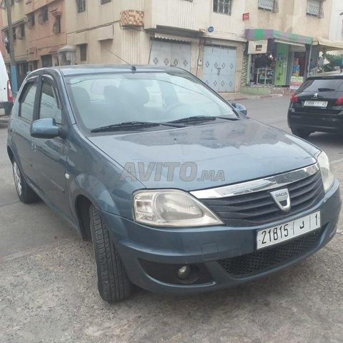 Voiture Dacia Logan 2010 au Maroc  Essence  - 8 chevaux