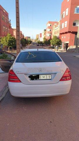 Voiture Mercedes benz Classe s 2007 au Maroc  Diesel  - 11 chevaux