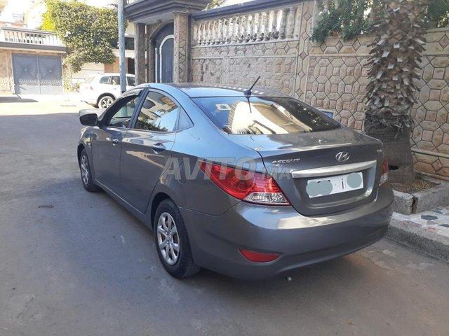 Voiture Hyundai Accent 2014 au Maroc  Diesel  - 6 chevaux
