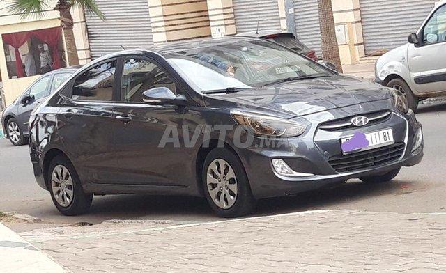 Voiture Hyundai Accent 2016 au Maroc  Diesel  - 6 chevaux