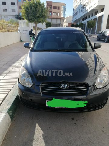 Voiture Hyundai Accent 2010 au Maroc  Essence  - 8 chevaux