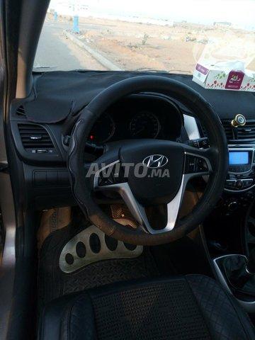 Voiture Hyundai Accent 2012 au Maroc  Diesel  - 6 chevaux