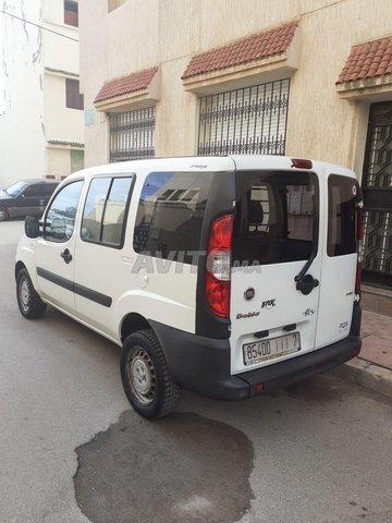 Voiture Fiat Doblo 2015 au Maroc  Diesel  - 6 chevaux
