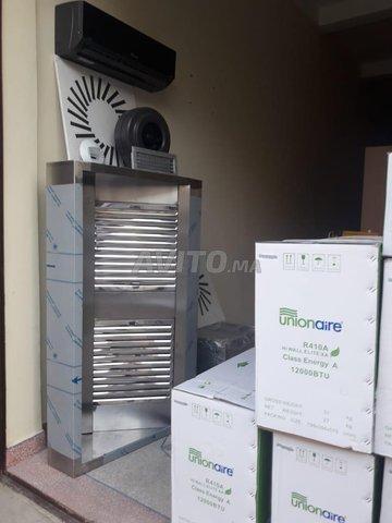 Climatisation Ventilation Hotte cuisine   - 1