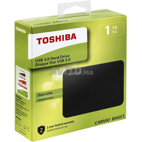 Toshiba Disque dur externe portable 1Tb / 3.0 - 1