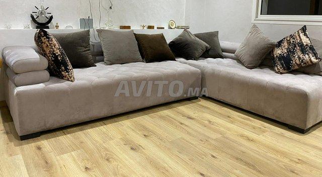 salon canapé d'angle - 1