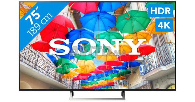 SONY TV KD-75XE8596 4k europe IPTV. - 1